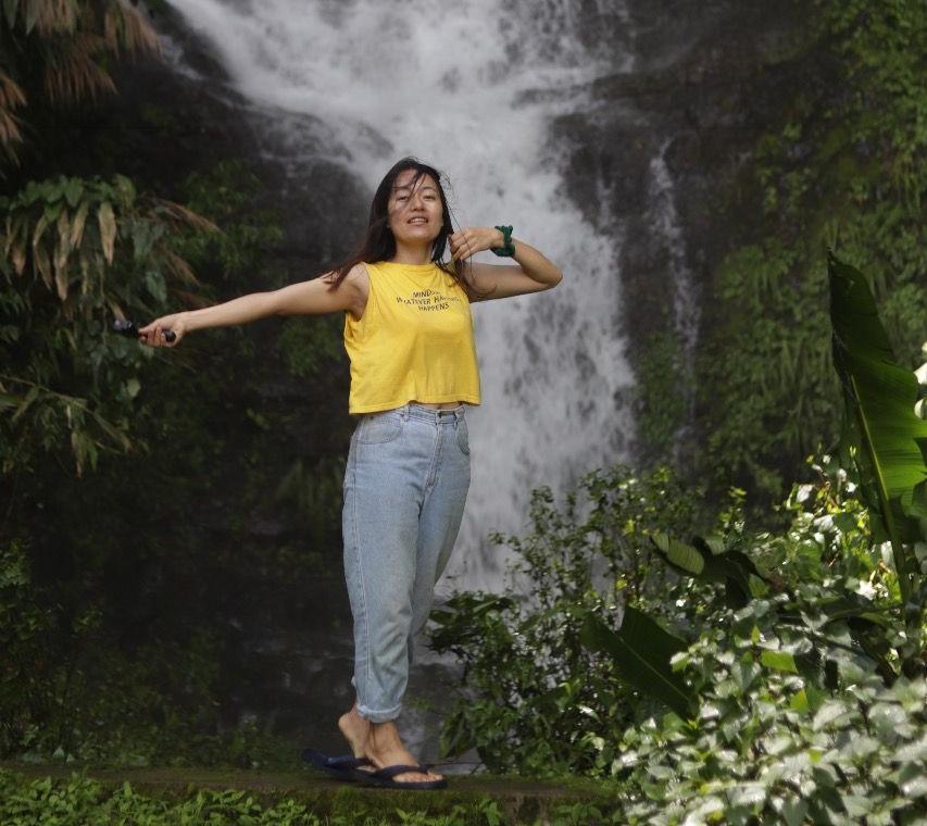 tamenglong waterfall