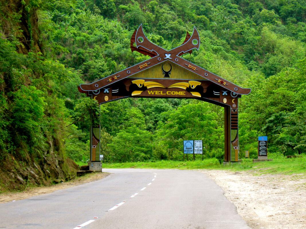 Way o KohimaNagaland India