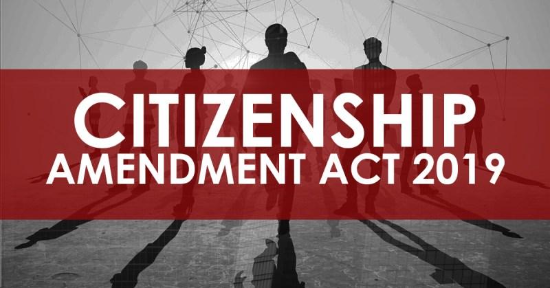 Citizenship Amendment Act 20191