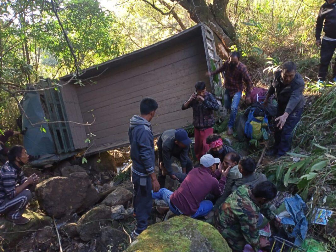 Shaktimaan accident Phangrei