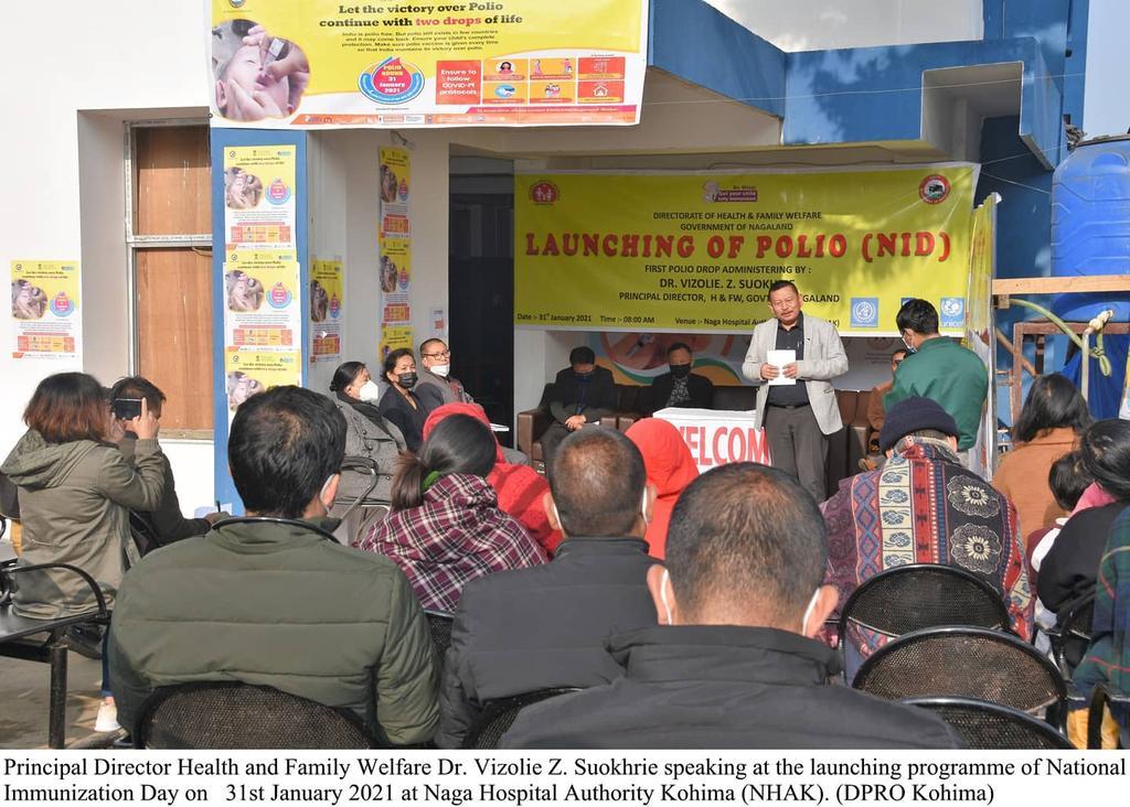 Polio Immunisation Nagaland