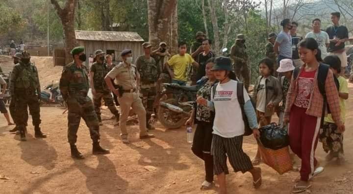 Myanmar refuge