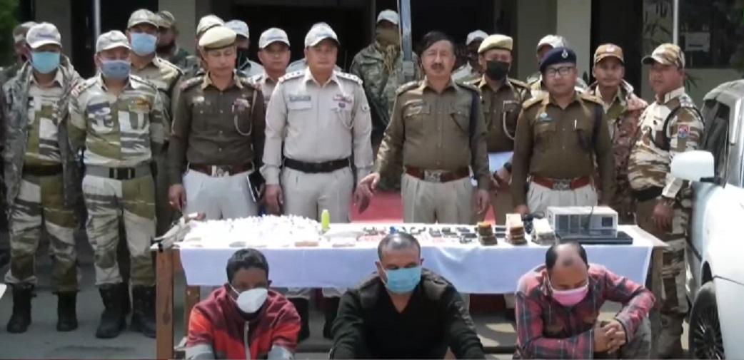 Manipur war on drugs