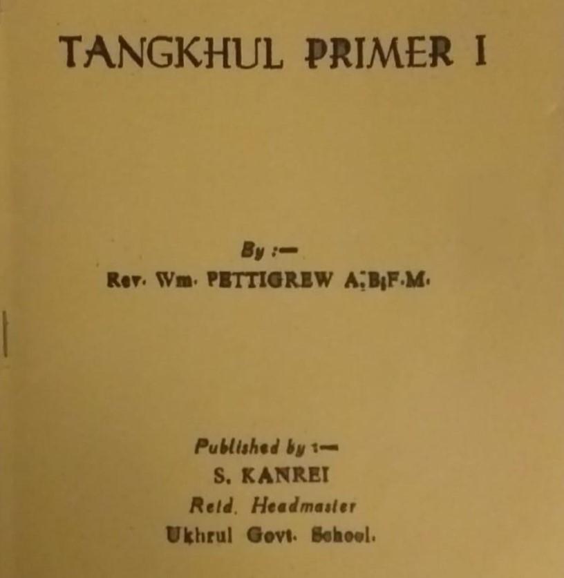W. Pettigrew Tangkhul Primer